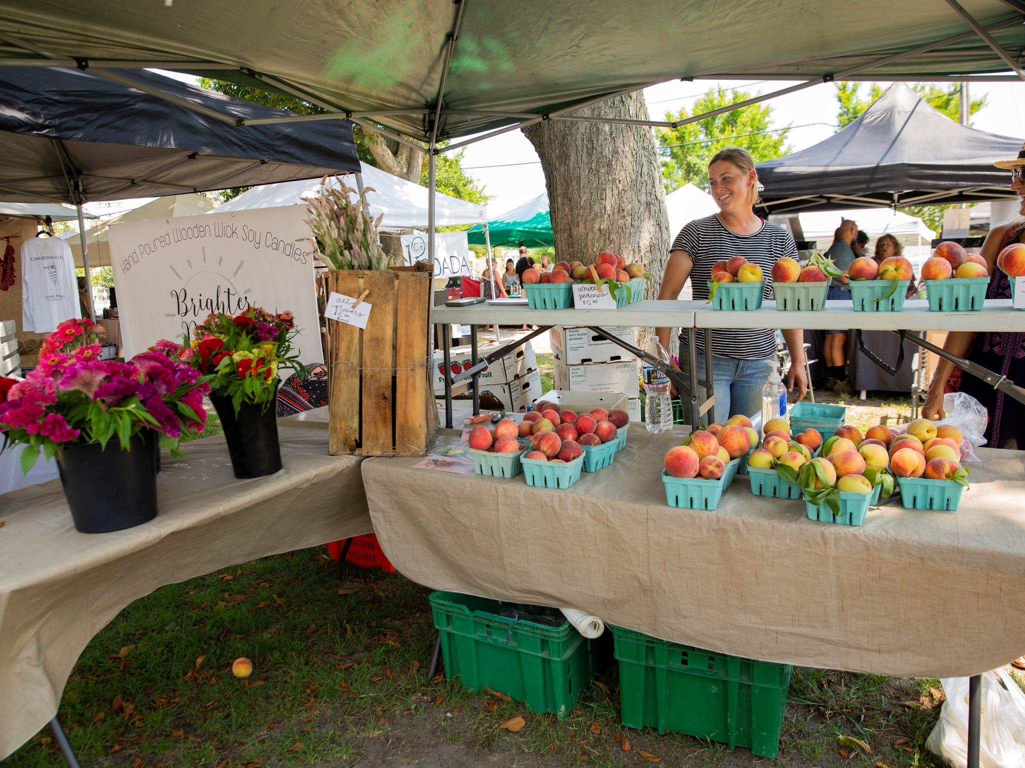 Asbury Fresh farmers' market, Asbury Park, 2018.