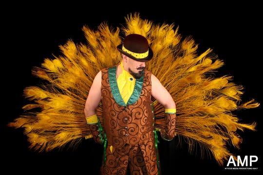 Elizabeth-native, Brooklyn-based boylesque performer Broody Valentino.
