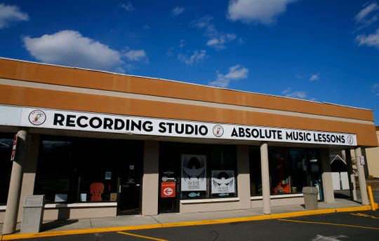 Exterior of Absolute Music in Hazlet is shown Tuesday, March 19, 2019.