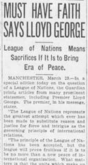Asbury Park Press front page, March 29, 1919