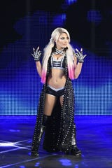 WWE superstar Alexa Bliss will be in the house when the Road to WrestleMania tour comes to the Cure Insurance Arena on Friday.