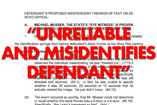"""Ryan's attorney argued in a court filing Musser is """"unreliable"""" as a witness, without the information the police department had on Musser."""