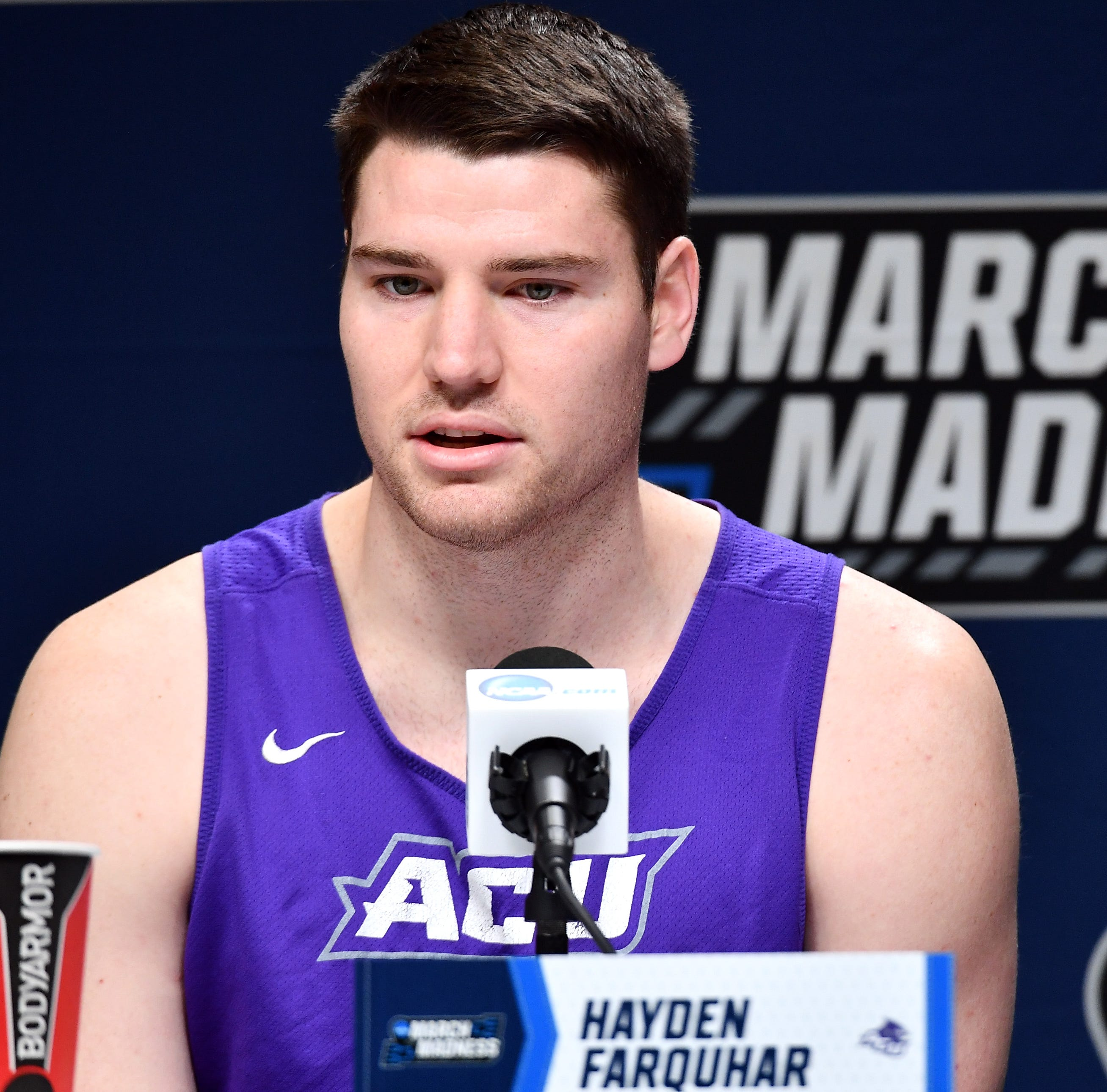Abilene Christian's Hayden Farquhar's name sounds like Shrek's Lord Farquaad, Twitter says