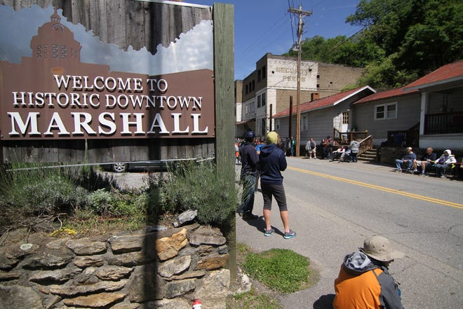"""Downtown Marshall will benefit from consultations with revitalization experts as part of the NC Department of Commerce's """"Downtown Strong"""" initiative."""