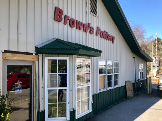 Brown's Pottery will close its Arden location at the end of March. The family-owned business, now in its 11th generation, will reopen in Pisgah Forest later this spring.