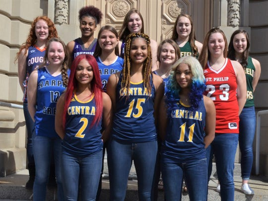The Battle Creek Enquirer 2018-19 All-City Girls Basketball team is made up of players from the six city schools and voted on by the coaches and the Enquirer sports staff.