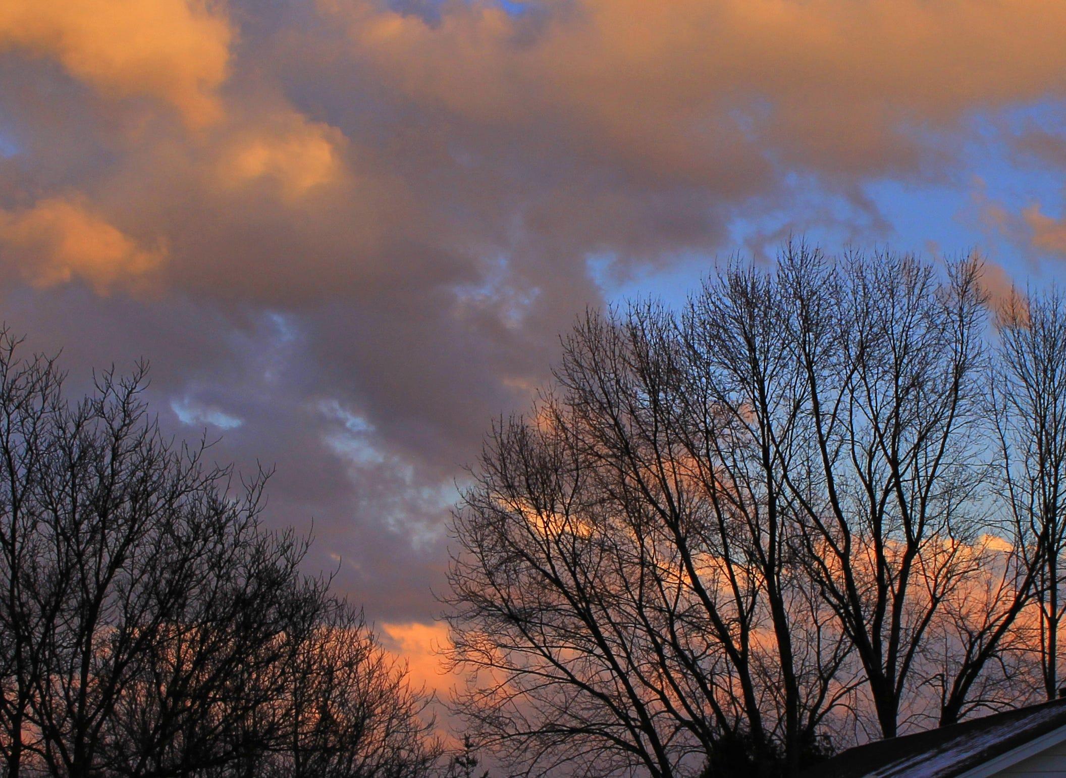 The Owego sky.
