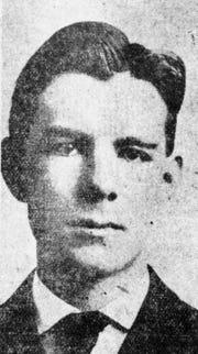 John Barron, the first farm agent for the Farm Bureau.