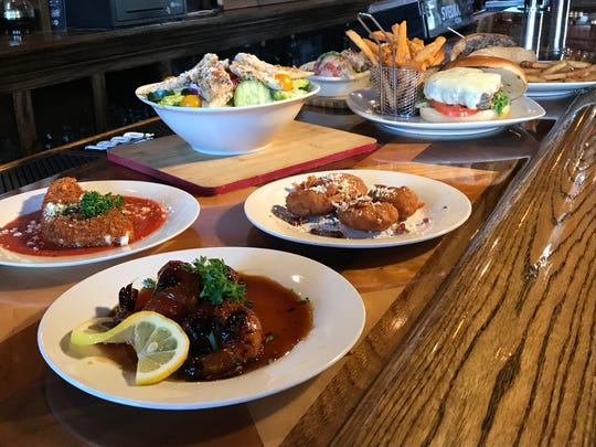Peterson's Tavern & Grille offers both traditional bar food and more upscale items.