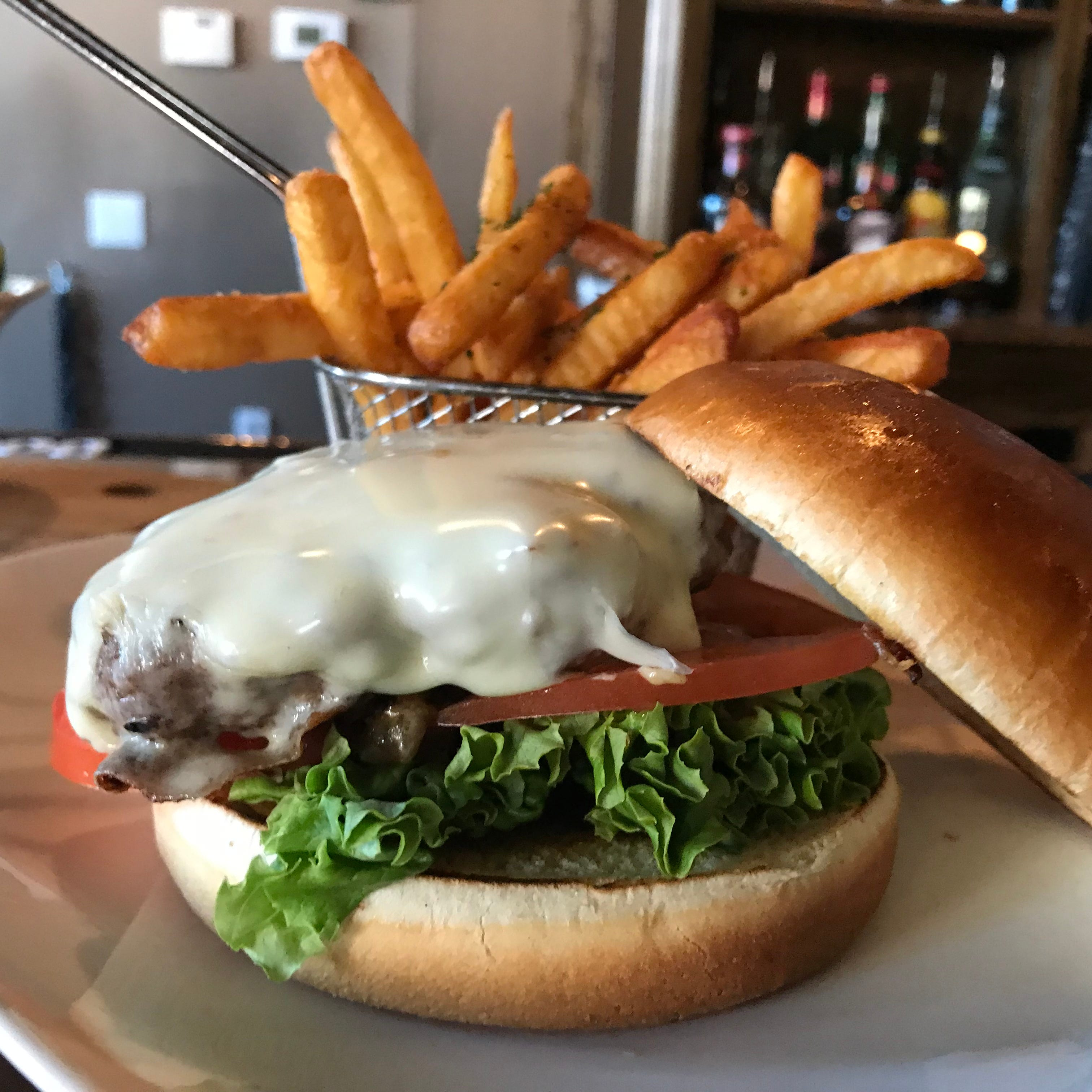Peterson's Tavern & Grille offers the 'Peterson's burger' on its lunch menu for Binghamton Restaurant Week.