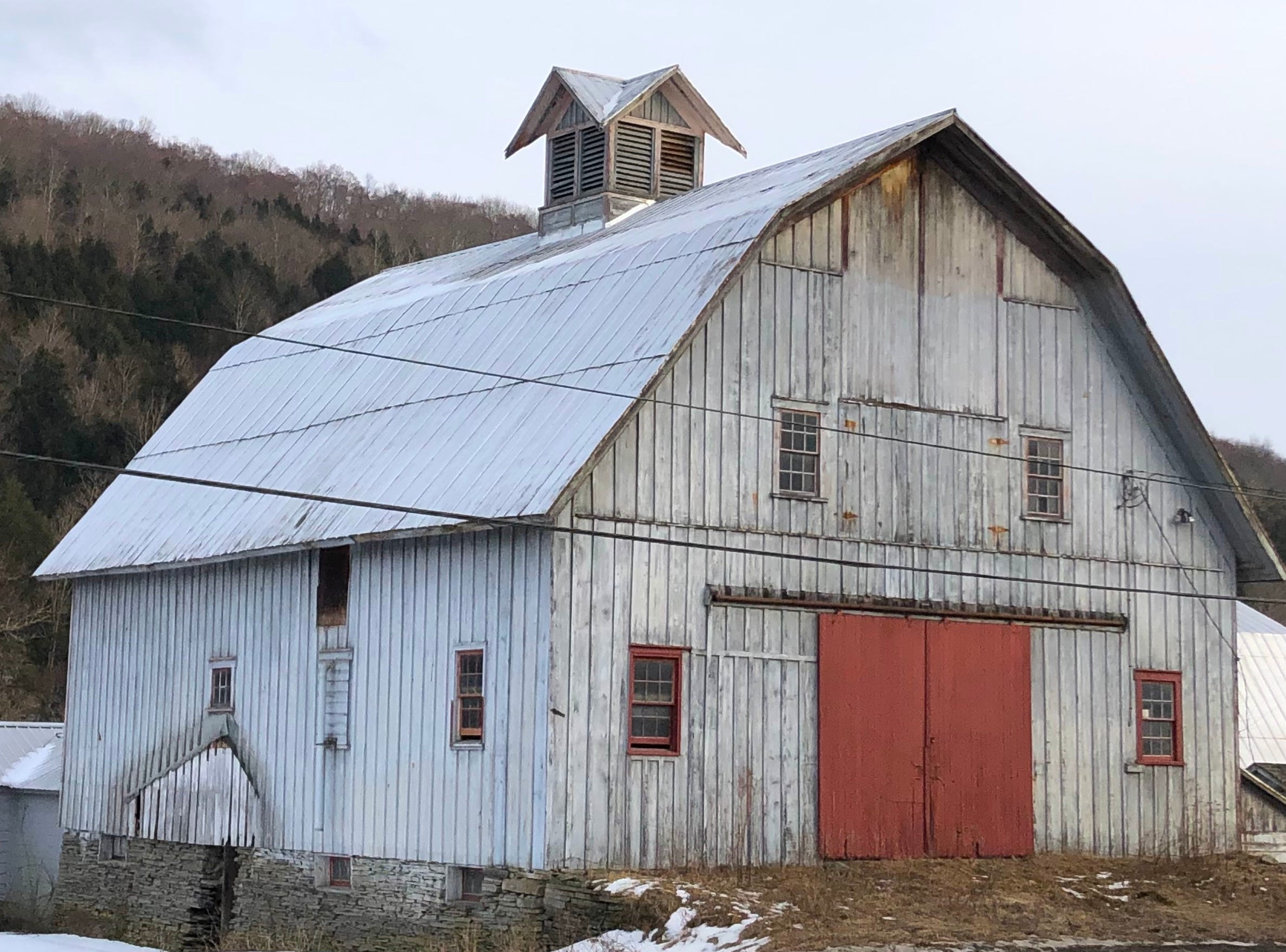 A barn in Montrose, PA.