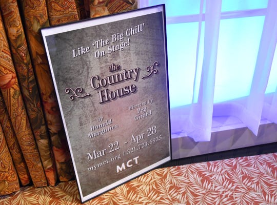 """""""The Country House"""" will be performed at Melbourne Civic Theatre March 22-April 28.  The cast of 6 is Susan Suomi as Anna, Terrence Girard as Walter, Rachel Greshes as Nell, as Elliot, Lily Porter as Susie, Michael Paul as Michael Astor, and Kevin McCaughin as Elliot."""