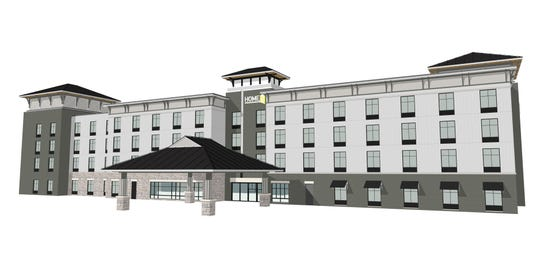 An artist's rendering of the future Home2 Suites by Hilton in Viera.