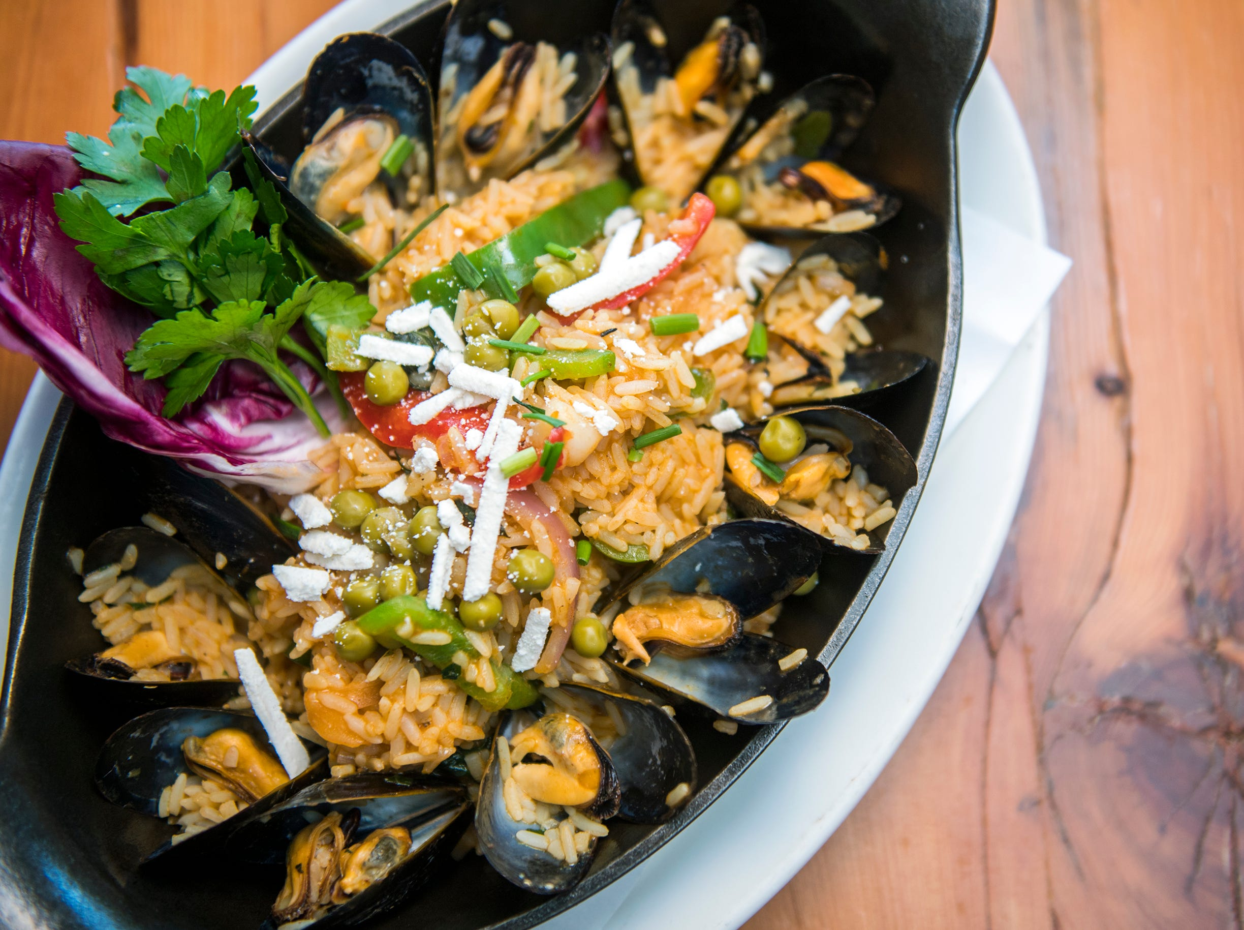 Seafood paella from Terra Nova in Sewell will be on the SJ Hot Chefs Restaurant Week menu at the restaurant.