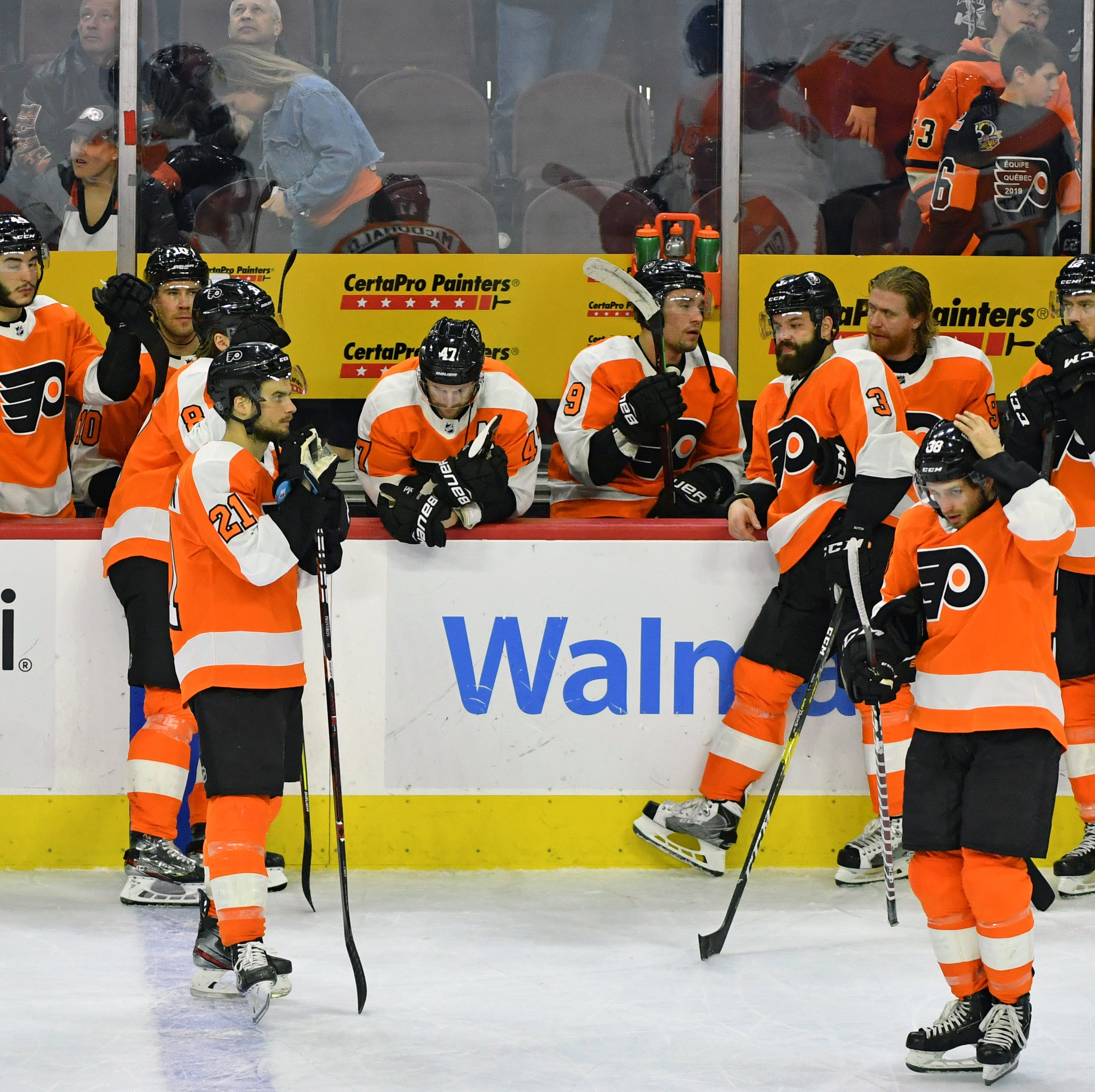 Flyers 5 takeaways: 'We can't afford to lose a game for the rest of the season'
