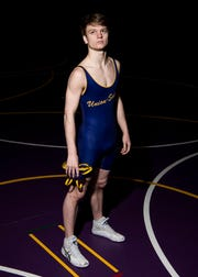 Unioto senior Ashten Moody received his one- hundredth career win by a 17-2 technical fall against Zane Trace's Alex Brown during the annual Vinton County Tournament in December of 2018. Moody has been wrestling since he was five and plans on wrestling in college in the fall for a Division II school while majoring in marketing and history. His other accolades include: one-hundred pins while wrestling against Zane Trace's Zach Wilson in February of 2019 with a total of 105 pins; 130 career wins and 49 loses; 119 near falls; 67 reversals; three-time SVC champion; 2019 District qualifier; and three-time team captain.