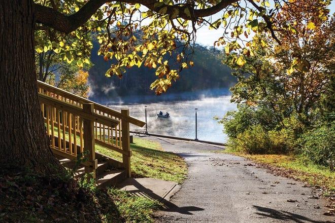 Acton Lake in Hueston Woods.
