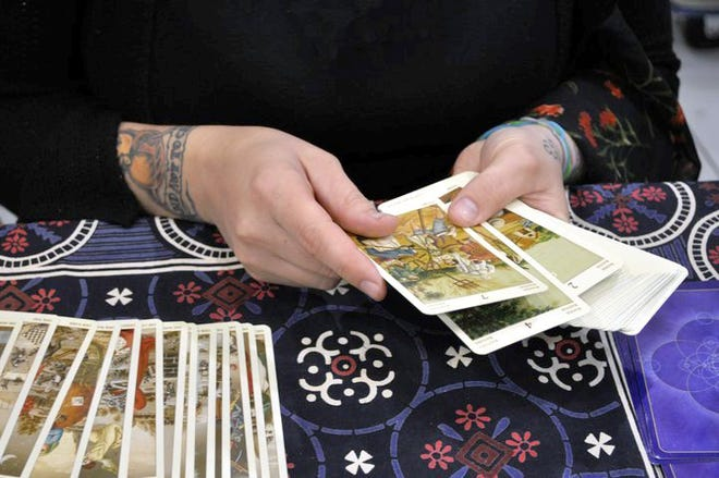 Tarot card readings, live music, art exhibits and more April 6-7 at the Victory of Light Psychic Festival.