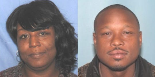 Marquita Westbrook, 36, was found dead early Wednesday morning in an Avondale home. Hours later, Cincinnati Police arrested Rico Murph (right) and charged him with murder.