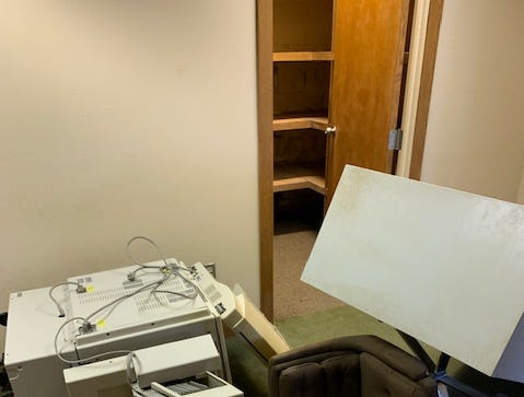 Juveniles are accused of causing more than $300,000 damage after vandalizing Eubanks office building.