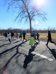 This year's inaugural Spring Training 5k Fun Run took place at Duke Island Park in Bridgewater on March 16.