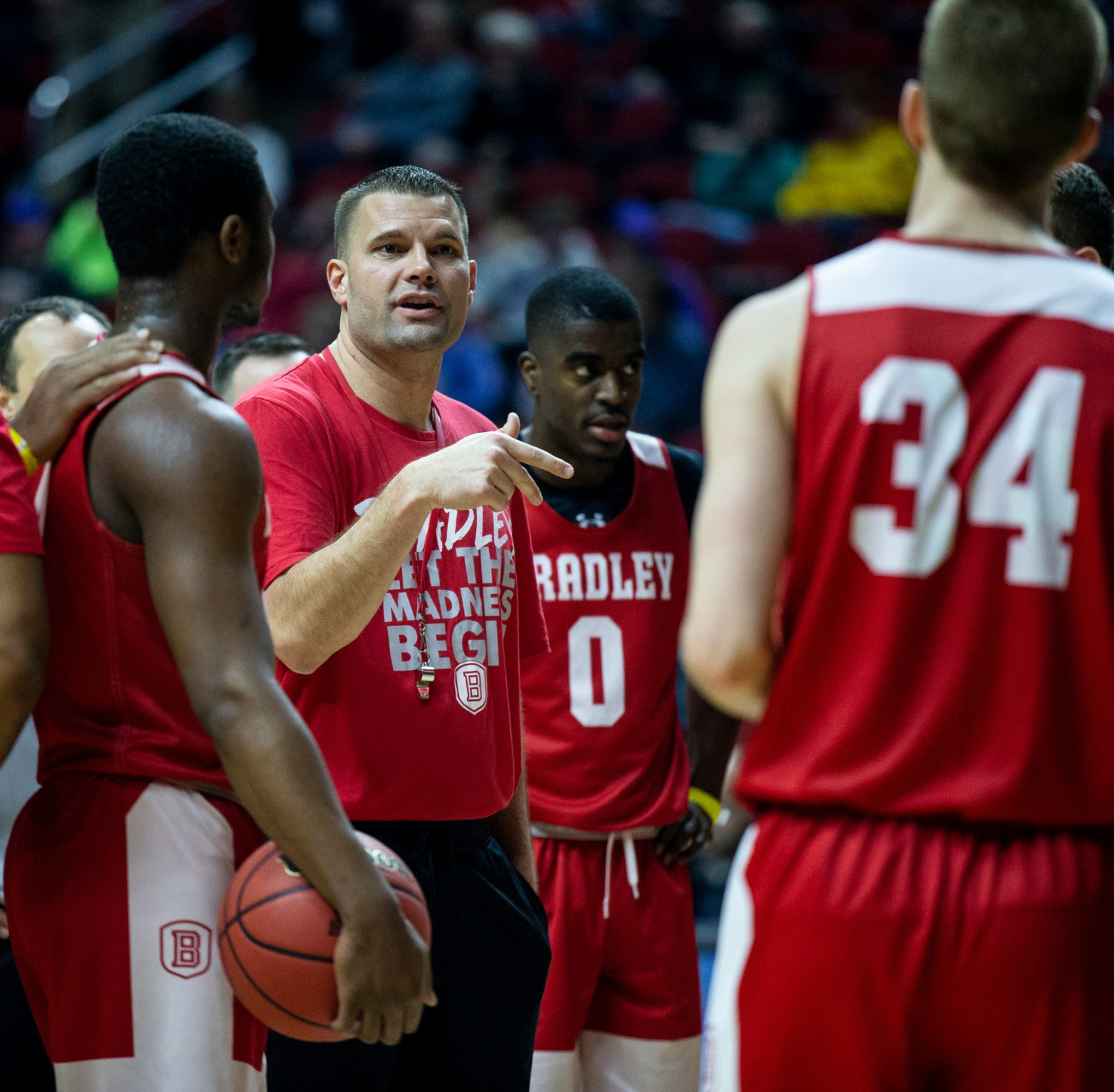 Bradley coach Brian Wardle contrite after controversy over targeting reporter: 'You've got to own it'