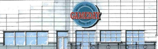 GAMEDAY  is a new sports bar and family entertainment venue opening at Merle Hay Mall at the end of 2018.