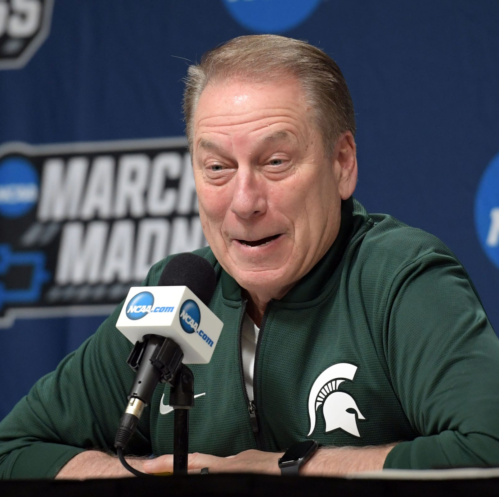 What Michigan State's Tom Izzo said before NCAA tournament game vs. Bradley