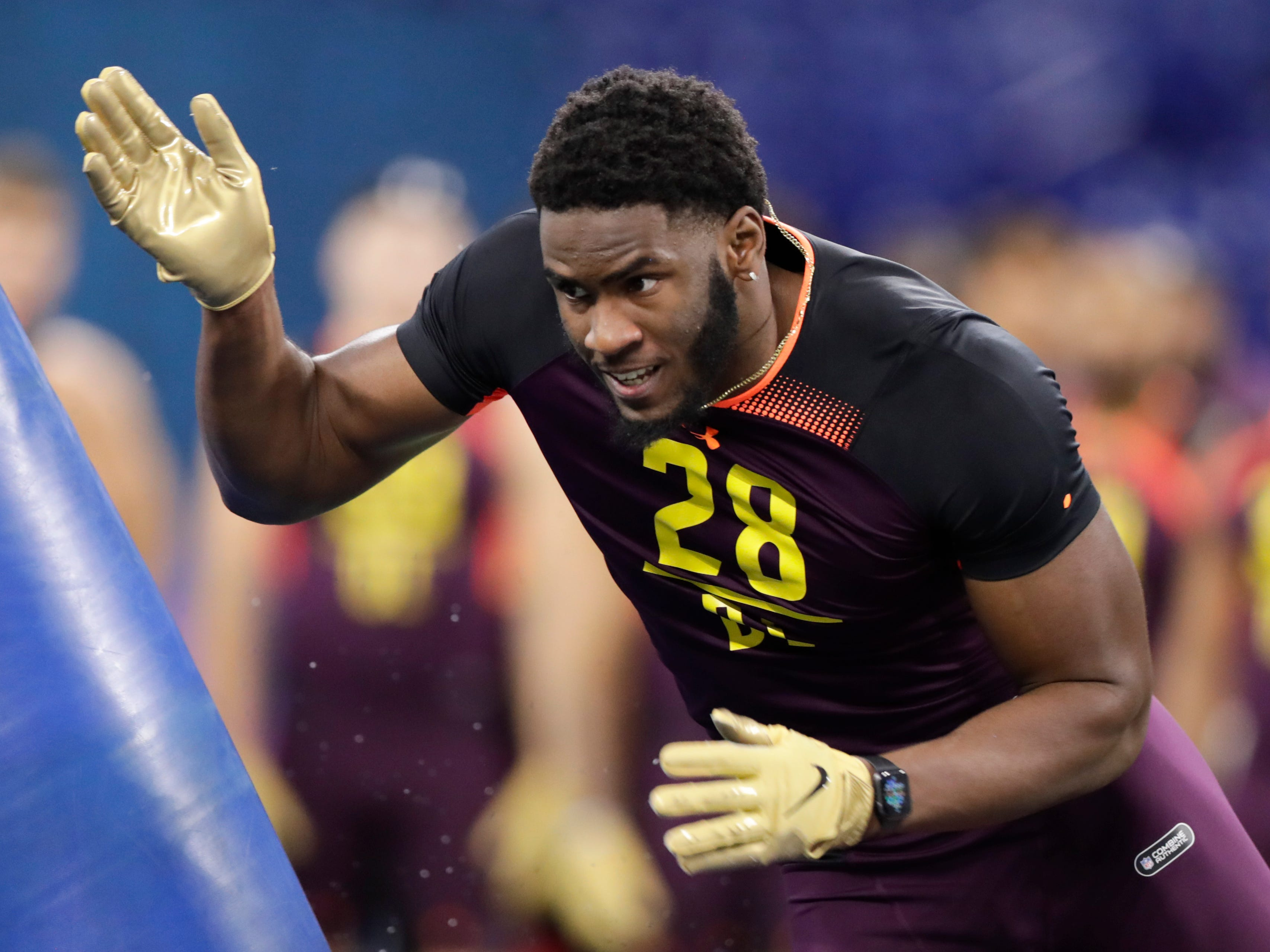 20. Pittsburgh Steelers: OLB Brian Burns, Florida State – Bud Dupree's entering the final year of his contract, and it's about time Pittsburgh drafted his replacement.