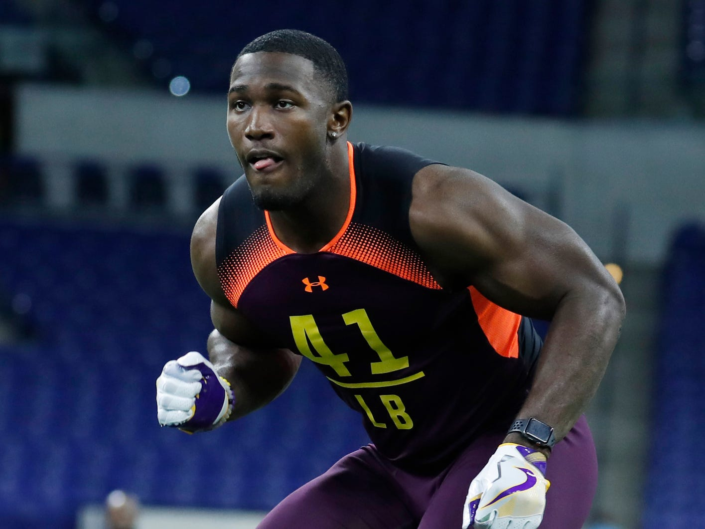 7. Jacksonville Jaguars: LB Devin White, LSU – Myles Jack is better suited to play outside, so White can take over at middle linebacker.