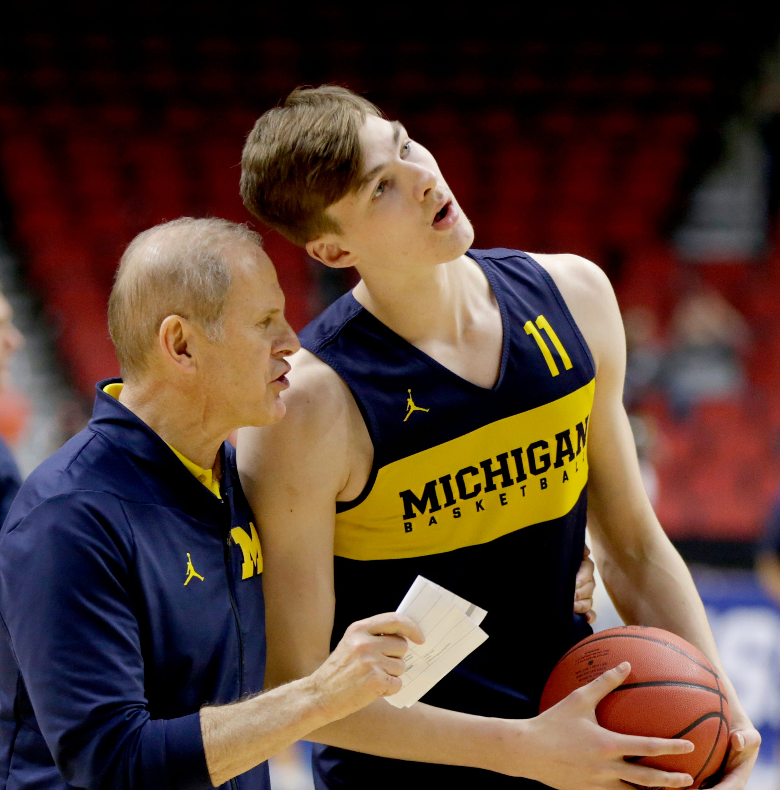 John Beilein says the hardest part of leaving Michigan was leaving the players