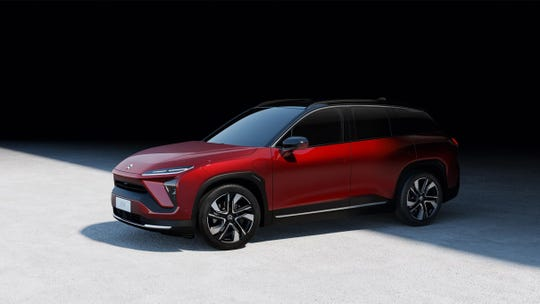 Chinese automaker Nio's new ES6 electric SUV claims a range of nearly 320 miles on a charge.
