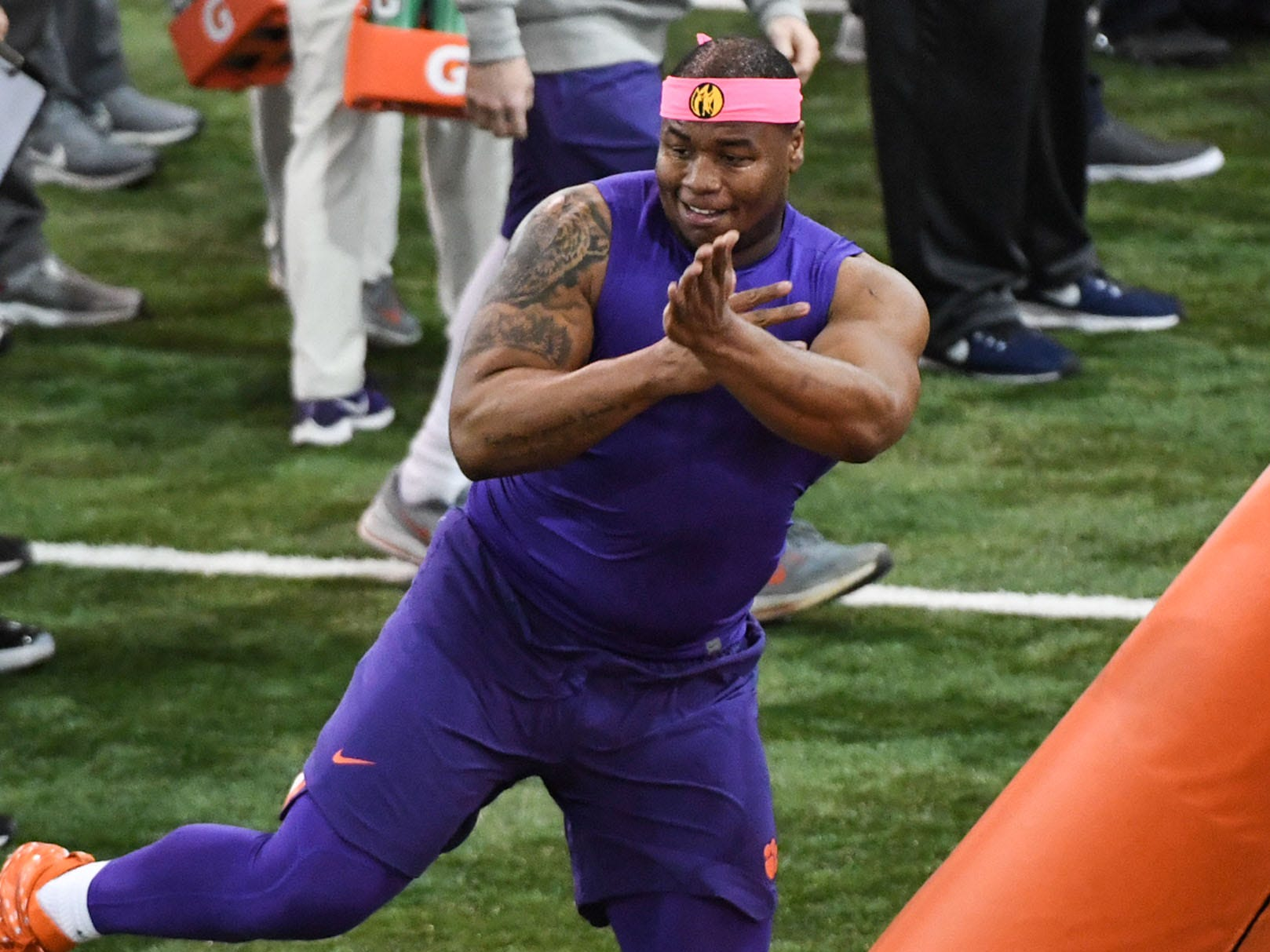 31. Los Angeles Rams: DT Dexter Lawrence, Clemson – The third and most massive Tigers defensive lineman to go in Round 1 would take Ndamukong Suh's place up front