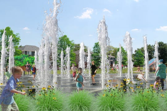 Merchants Park will get a splash pad, in part, through a $180,000 matching federal grant.