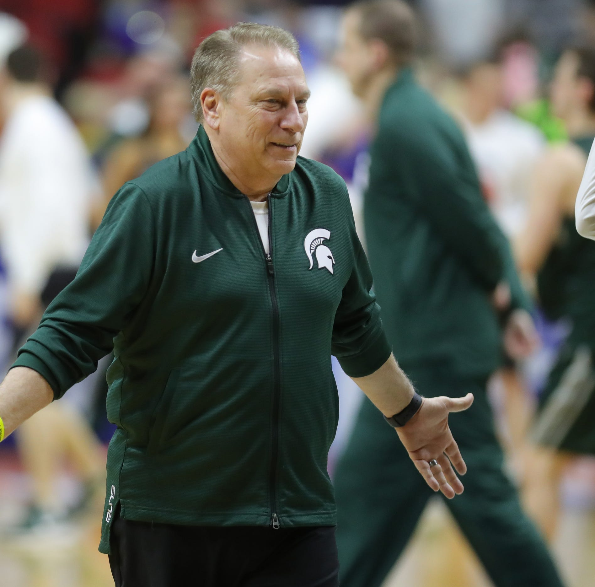 Michigan State players baffled by seeding. Tom Izzo had another message