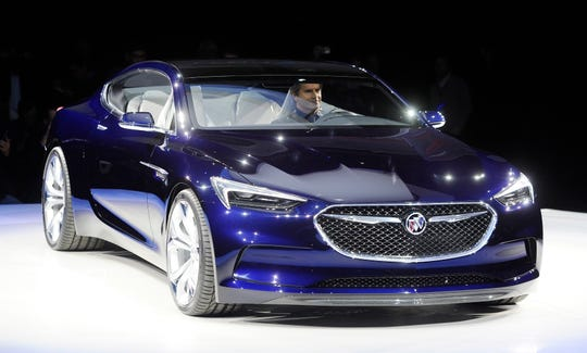 Buick's sleek two-plus-two concept coupe, the Avista, was unveiled in 2016. It influenced the grille and headlight designs of Buick's current vehicles.