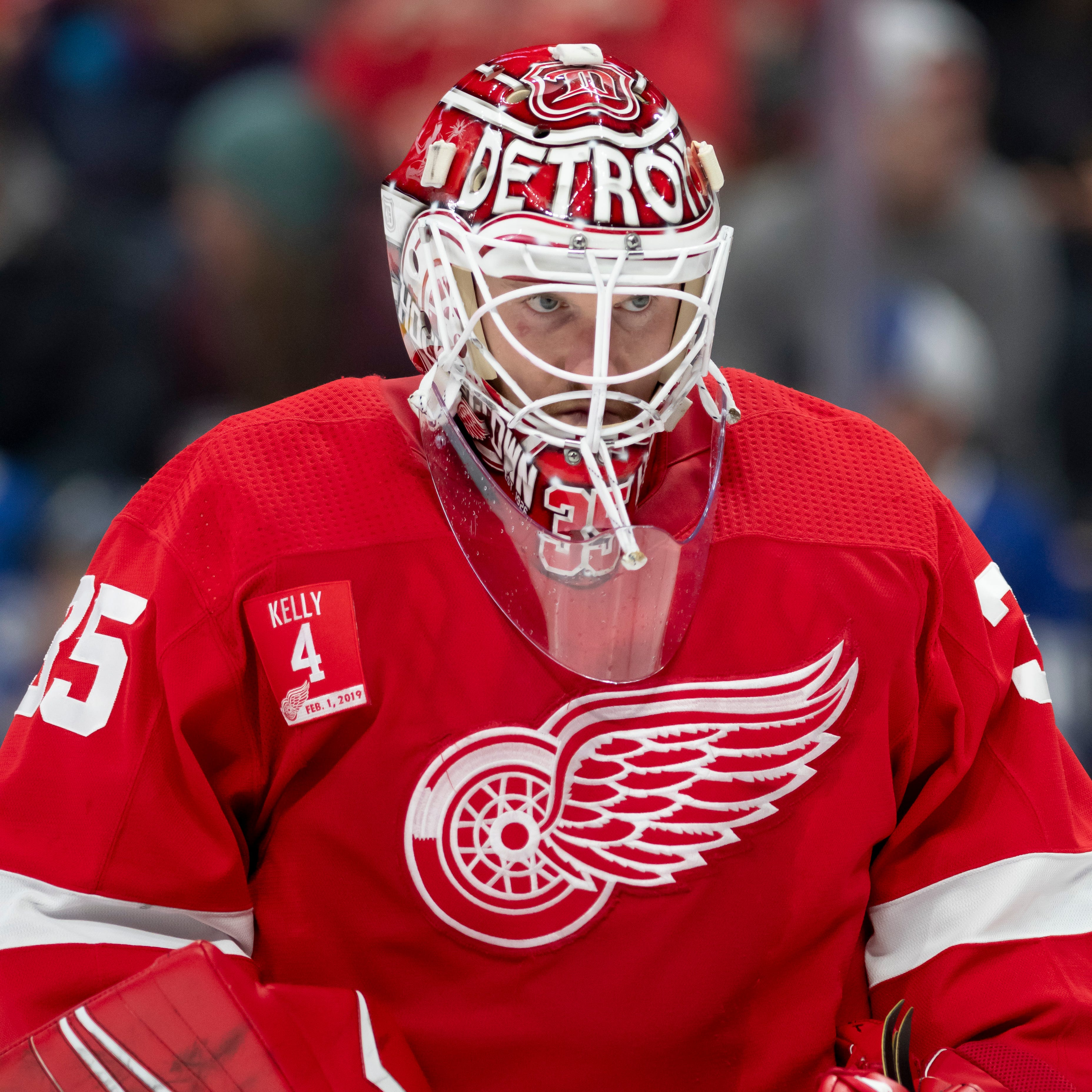 Jimmy Howard thrilled about staying with Red Wings another season