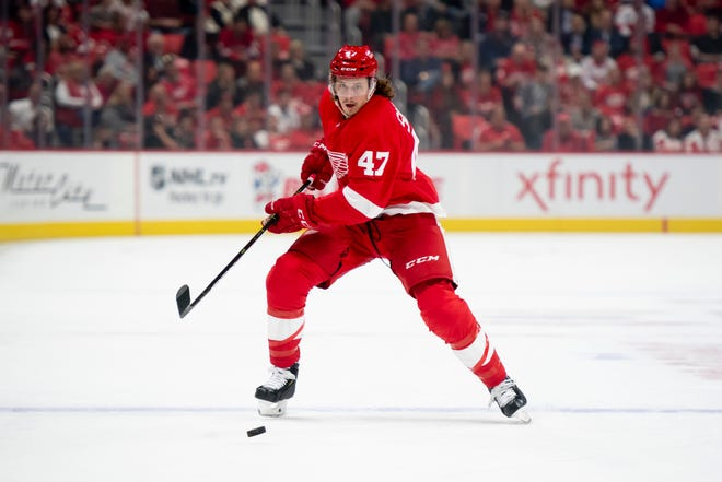 The Red Wings on Wednesday recalled defenseman Libor Sulak from their minor-league affiliate in Grand Rapids.