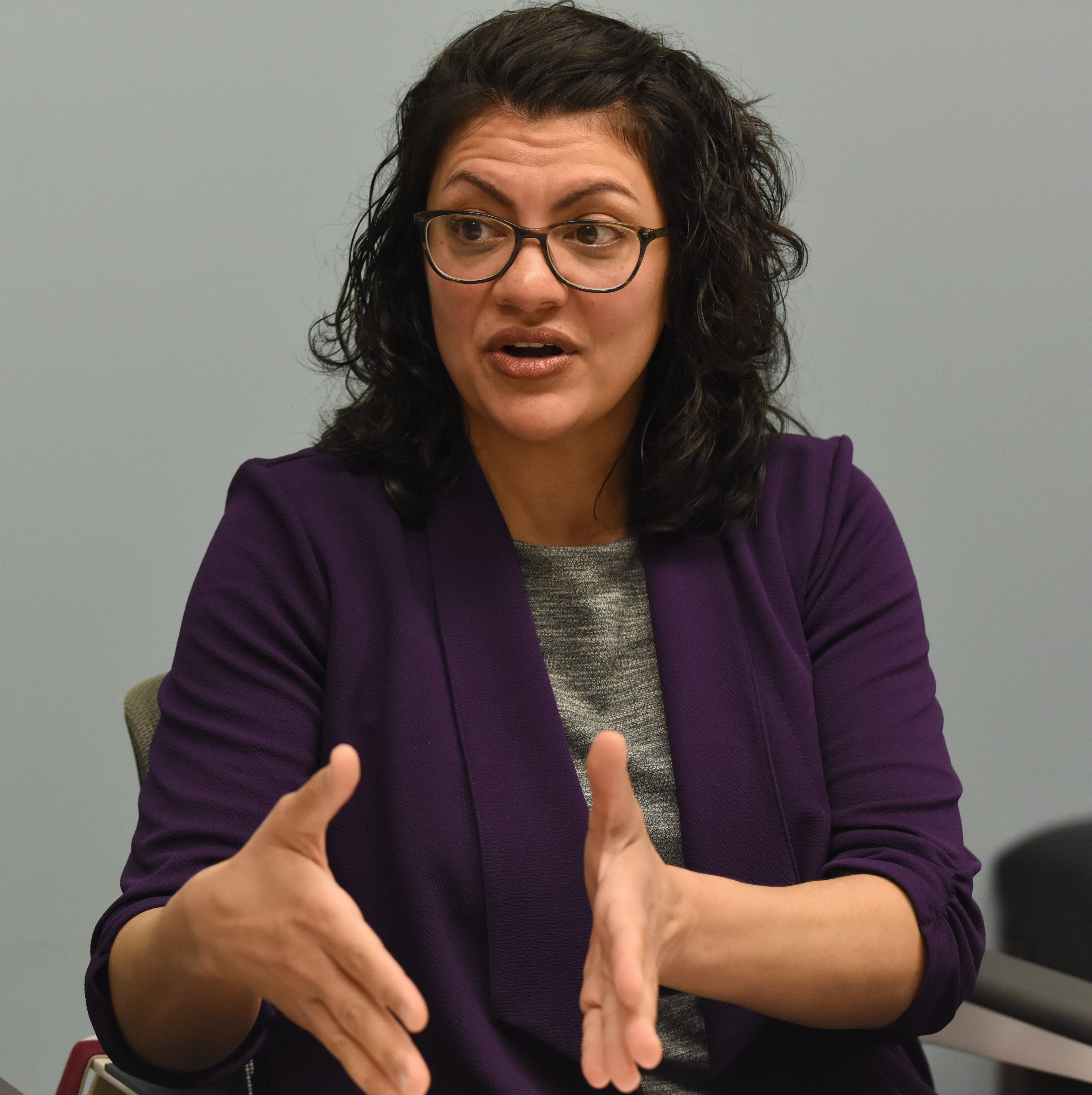 Tlaib denounces anti-Semitism while calling on Israel to 'do better'