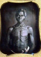 A 1850 Daguerreotype of Renty, a South Carolina slave.