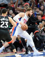 Blake Griffin and the Pistons are sitting in sixth place in the Eastern Conference, but are just 3.5 games ahead of the ninth-place Orlando Magic.