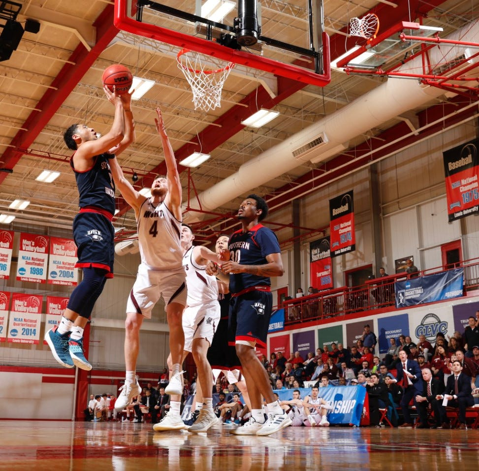 USI beats rival Bellarmine to clinch D-II Elite Eight berth