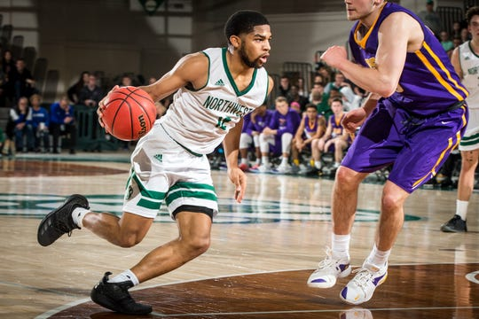 Trevor Hudgins averages over 18 points per game for Northwest Missouri State.