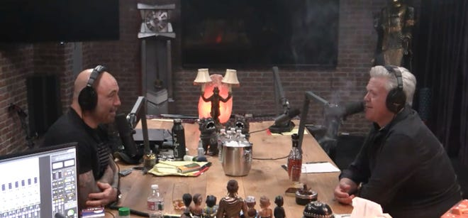 Screenshot of The Joe Rogan experience podcast.