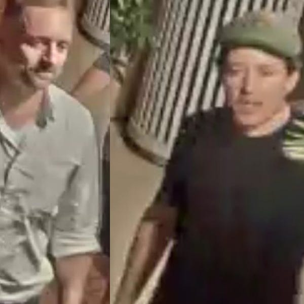 Photos released of two men  accused of 'vandalizing' downtown Robert E. Lee statue