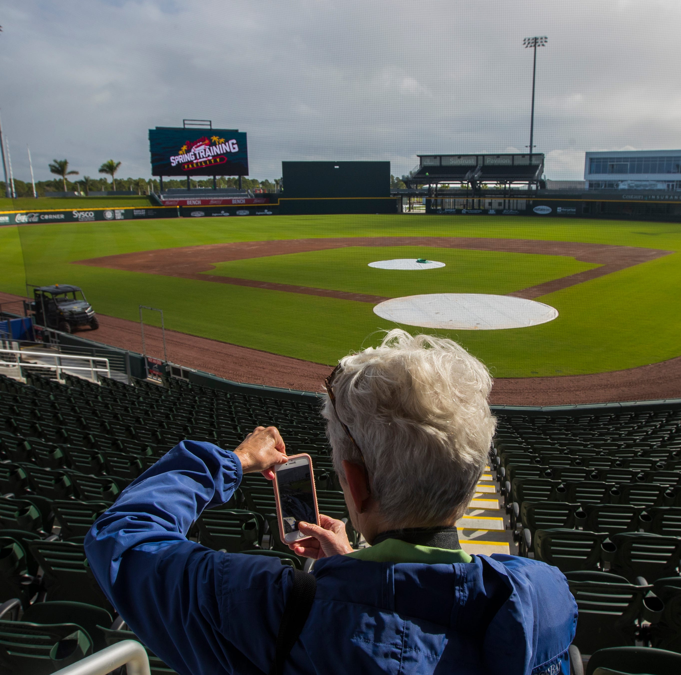Atlanta Braves unveil new spring training stadium in North Port