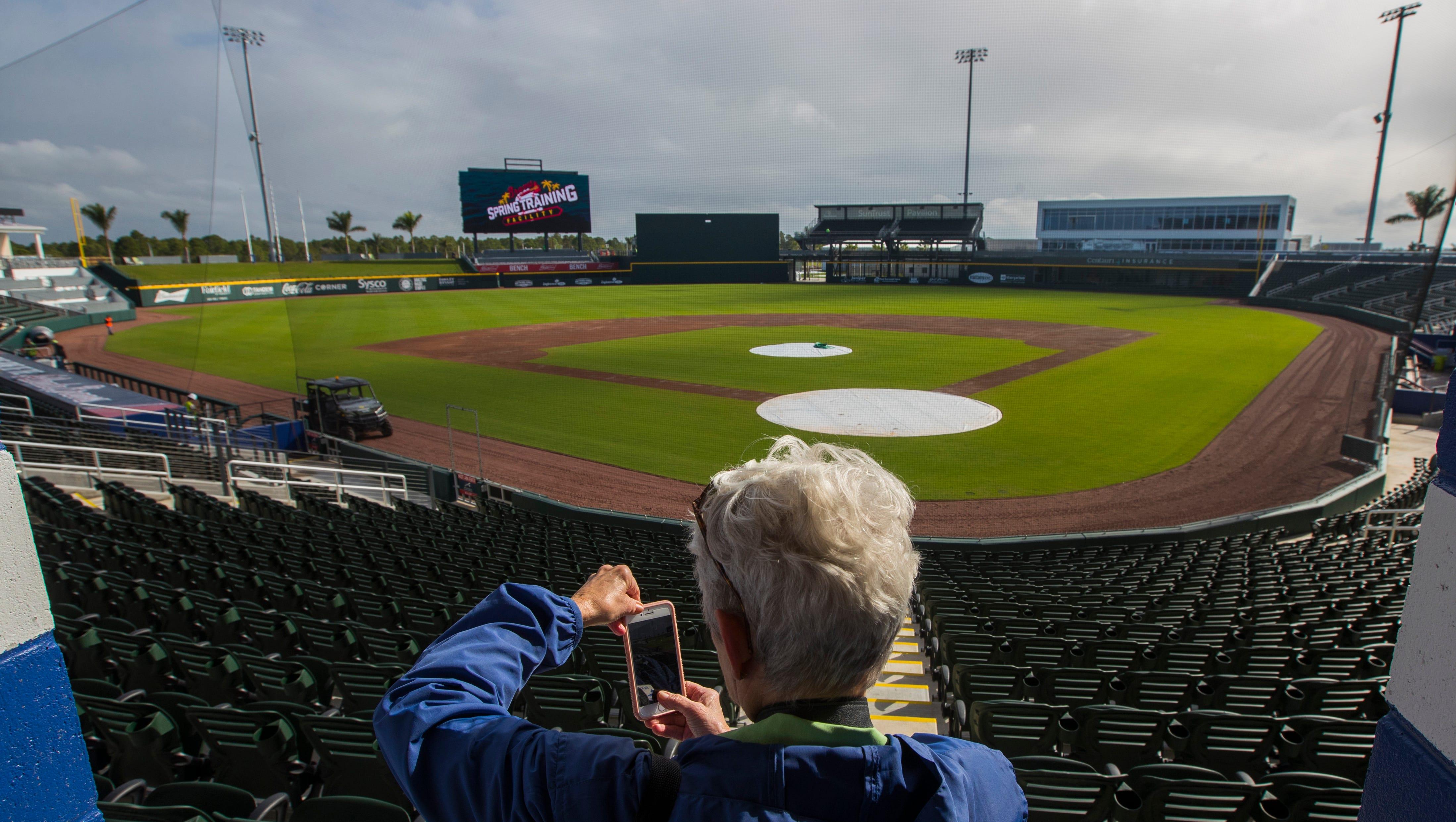 New Atlanta Braves Spring Training Stadium Opens In North Port