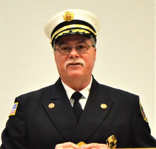 Oconto Fire and Rescue Department Chief John Reed.