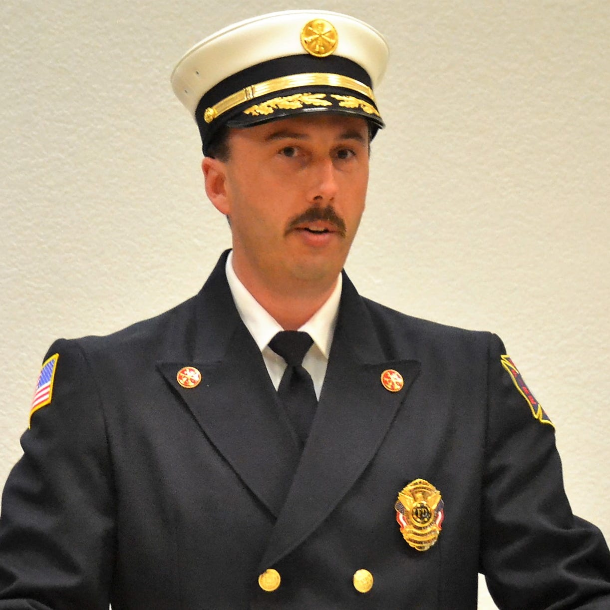 Oconto Fire and Rescue Department promotes three firefighters