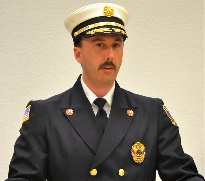 Deputy Chief Josh Bostedt, Oconto Fire and Rescue Department